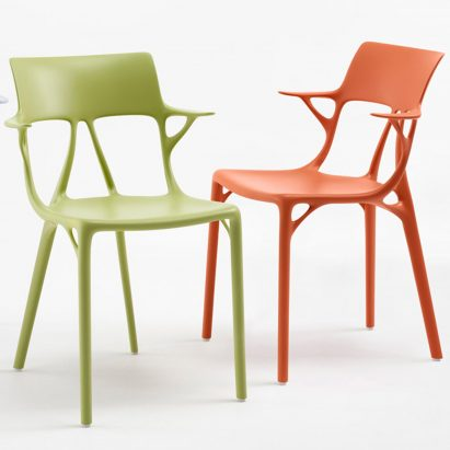 Philippe Starck designs chair with AI for Kartell
