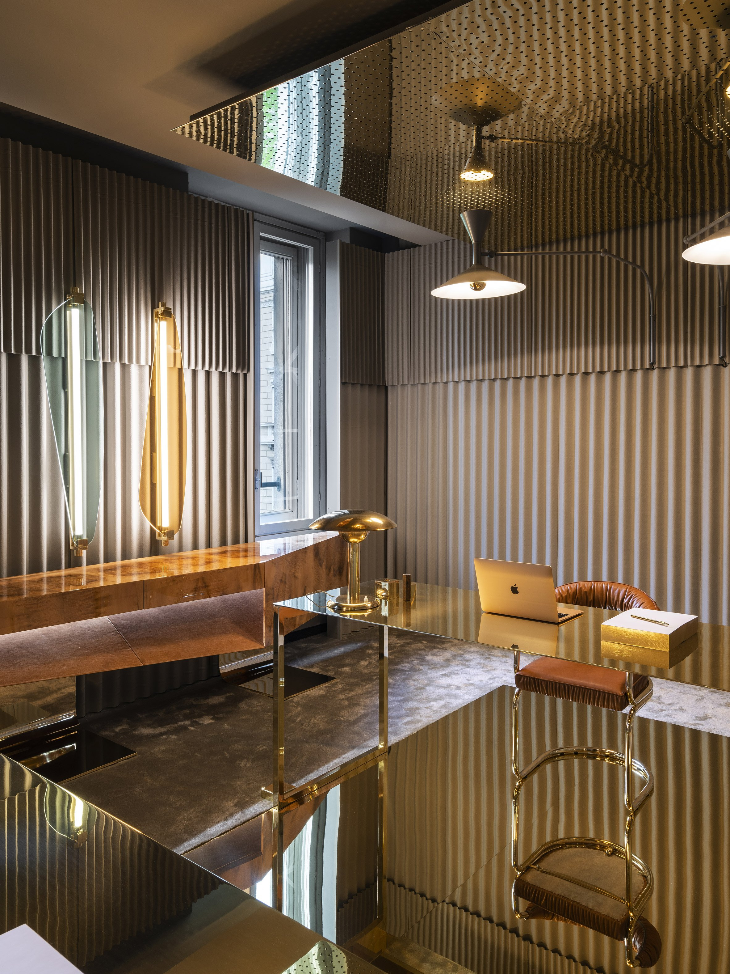 Life in Vogue exhibition sees eight creatives revamp Vogue Italia offices for Milan design week