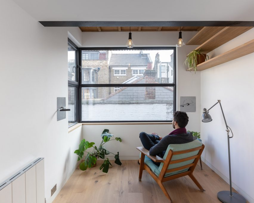Black Box house extension in Islington by by MATA Architects