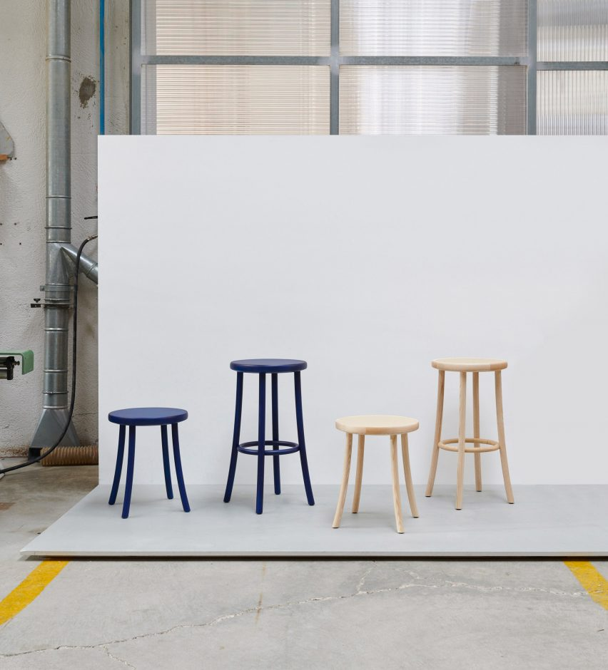 Mattiazzi debuts four new seating designs at Milan Design Week