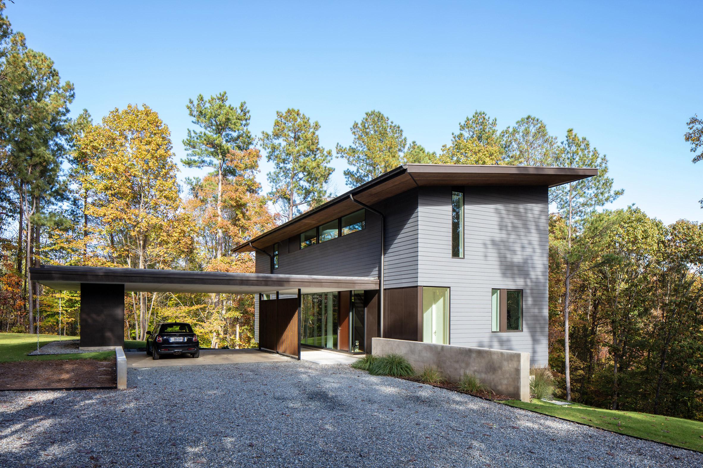 Merkel Cooper lakehouse residence by In Situ Studio