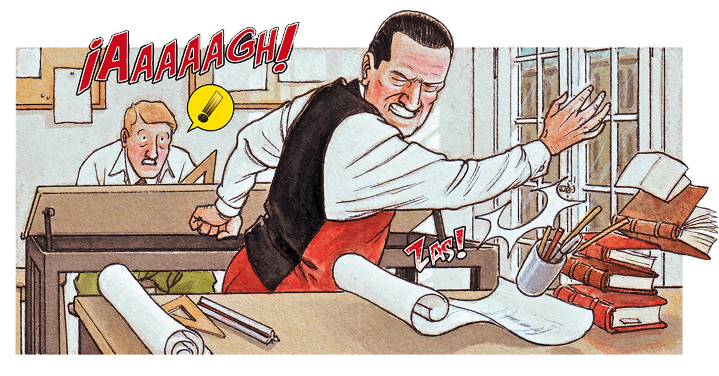 Mies comic by Agustin Ferrer Casas