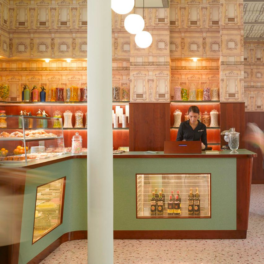 Milan travel guide: Bar Luce by Wes Anderson