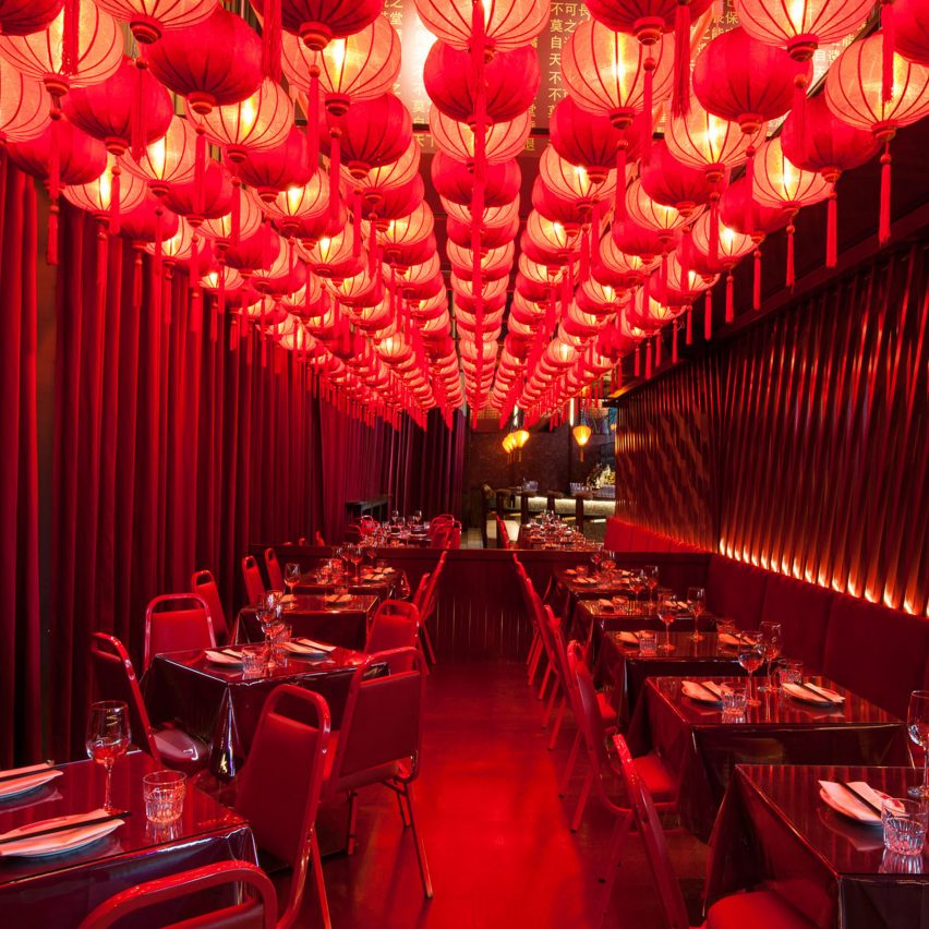 Miss Wong Restaurant in Quebec Canada by Menard Dworkind