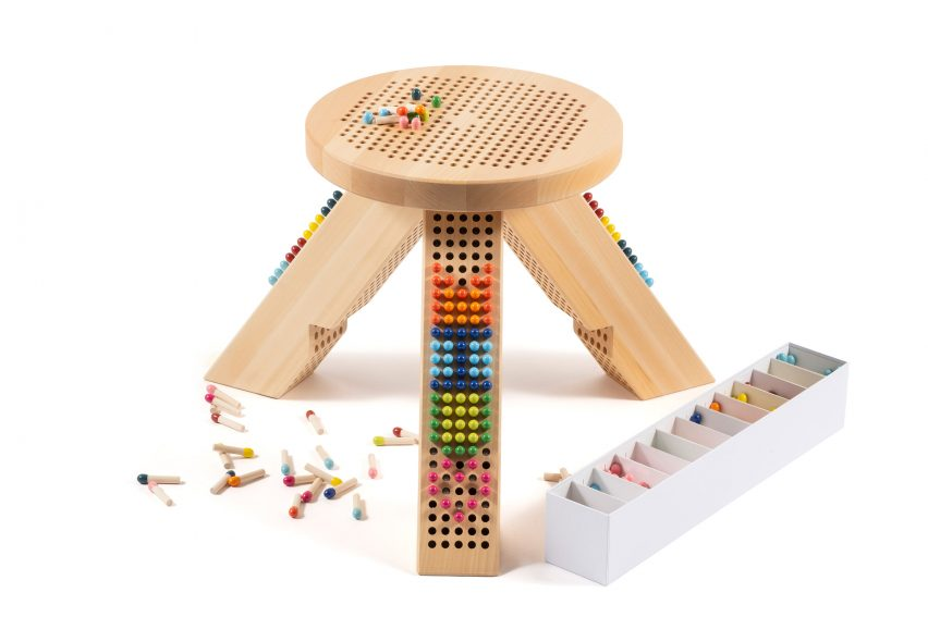 """Miu Miu's M/Matching Colorstool is a """"board game without rules"""""""