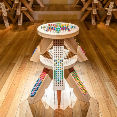 "Miu Miu's M/Matching Colorstool is a ""board game without rules"""