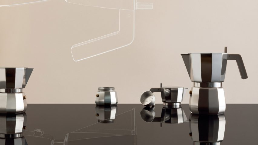 Moka coffee maker by David Chipperfield for Alessi
