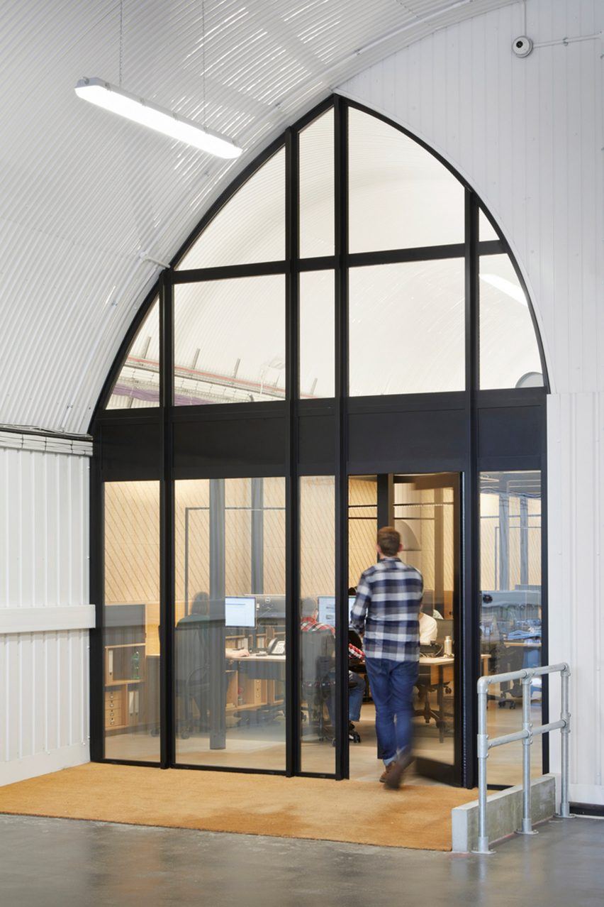 Interiors of Monmouth Coffee offices, designed by ID:SR