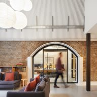 ID:SR converts railway arches into offices for Monmouth Coffee