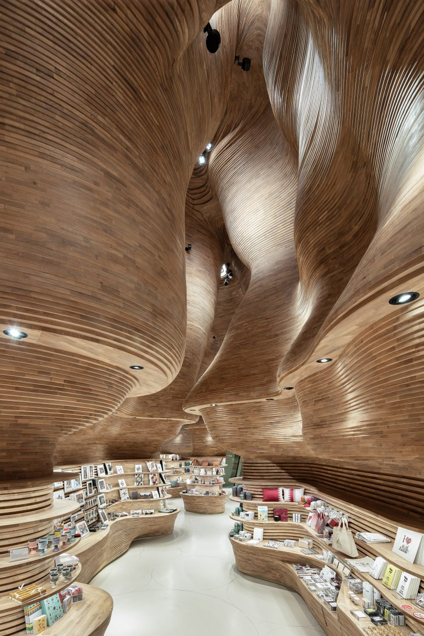 Interiors of National Museum of Qatar by Koichi Takada Architects