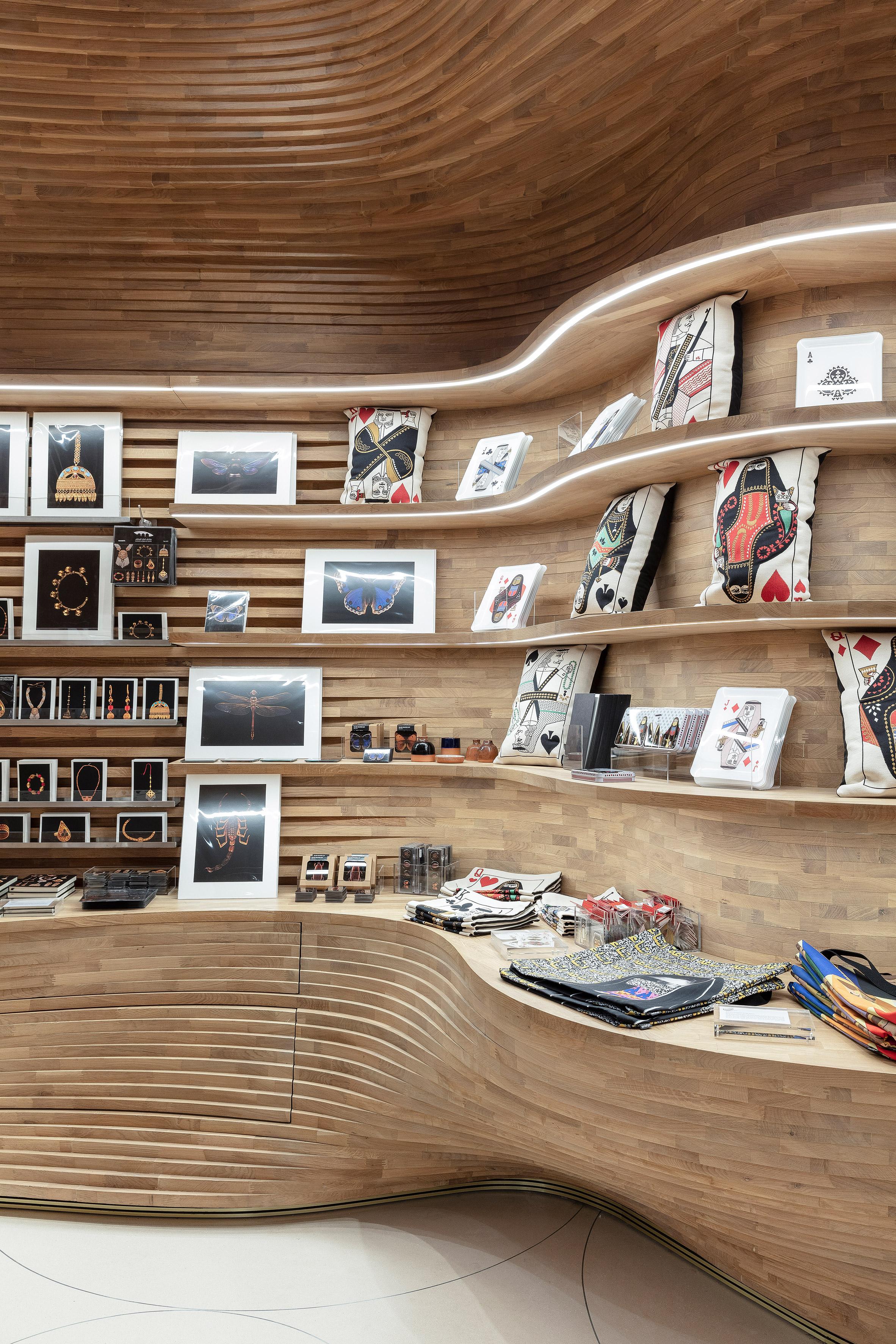 Interiors of National Museum of Qatar by Koichi Takada Architects