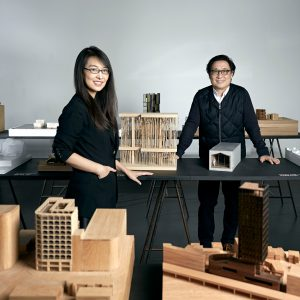 Shanghai and London based designers Lyndon Neri and Rossana Hu