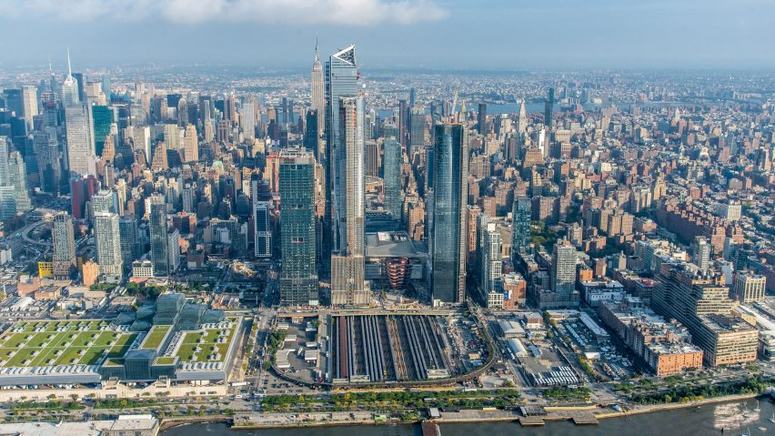 Skyscrapers at New York City's Hudson Yards
