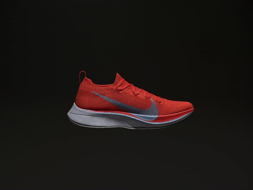 a9109f7a27da3 The Nike ZoomX Vaporfly NEXT% is an update of Nike s previous  marathon-running trainer