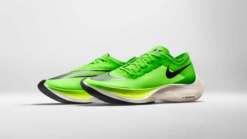 The Nike ZoomX Vaporfly NEXT% is an update of Nike's previous marathon-running trainer, the Nike Zoom Vaporfly 4%