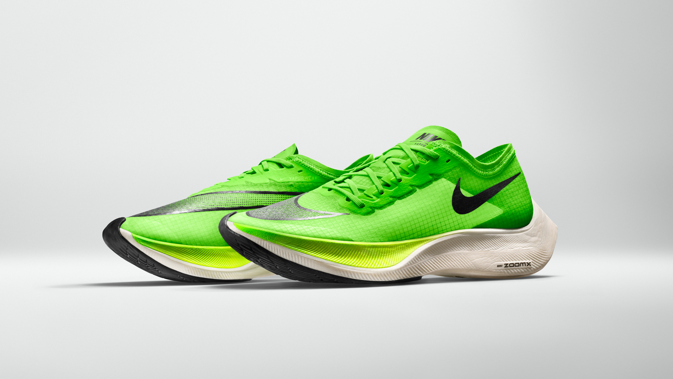 48bfc9fc2417a Nike ZoomX Vaporfly NEXT% trainer debuts at the London Marathon