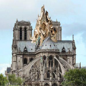 Seven alternative designs for the new Notre-Dame spire
