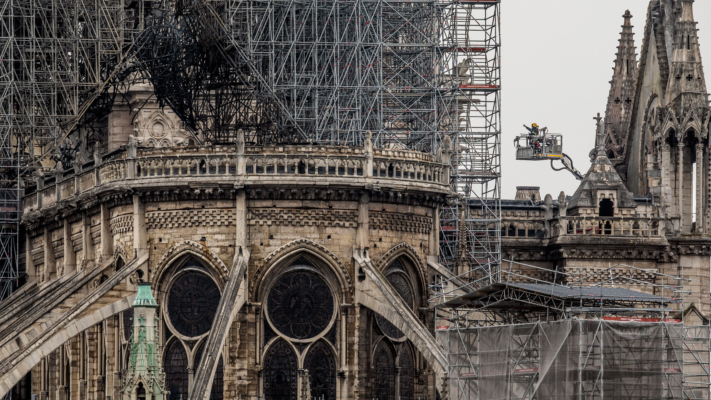 Experts urge Macron to abandon five-year deadline for Notre-Dame rebuild