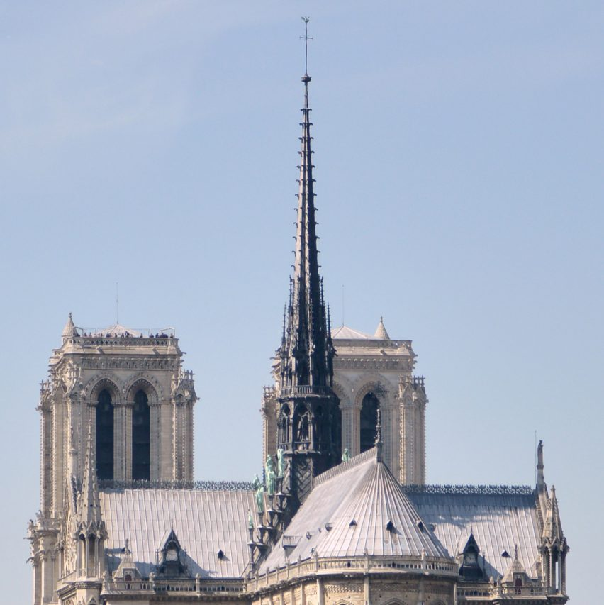 France to launch competition to design a new spire for Notre-Dame
