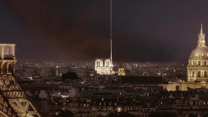 Vizumatelier's proposal for Notre Dame's new spire