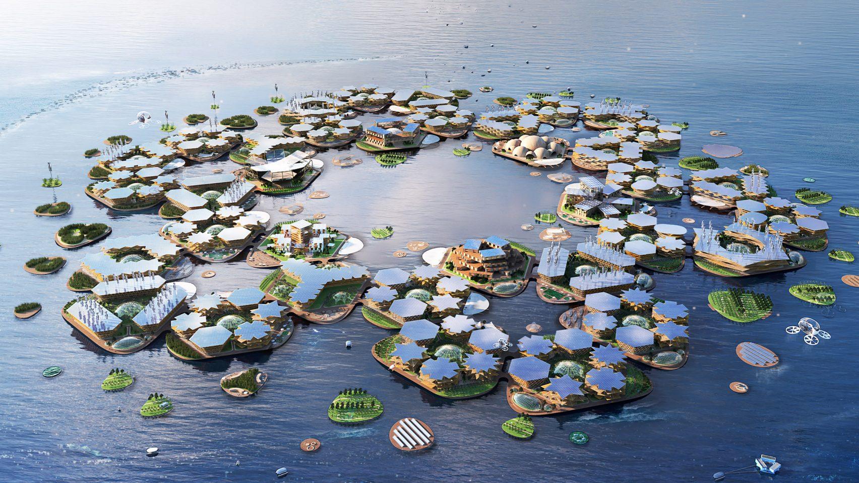 Oceanix City by BIG