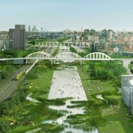 "OMA and Laboratorio Permanente to transform two Milanese railway yards into ""ecological filters"""