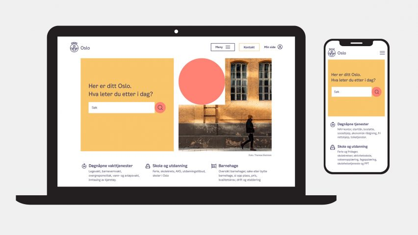Oslo's new visual identity by Creuna Norway