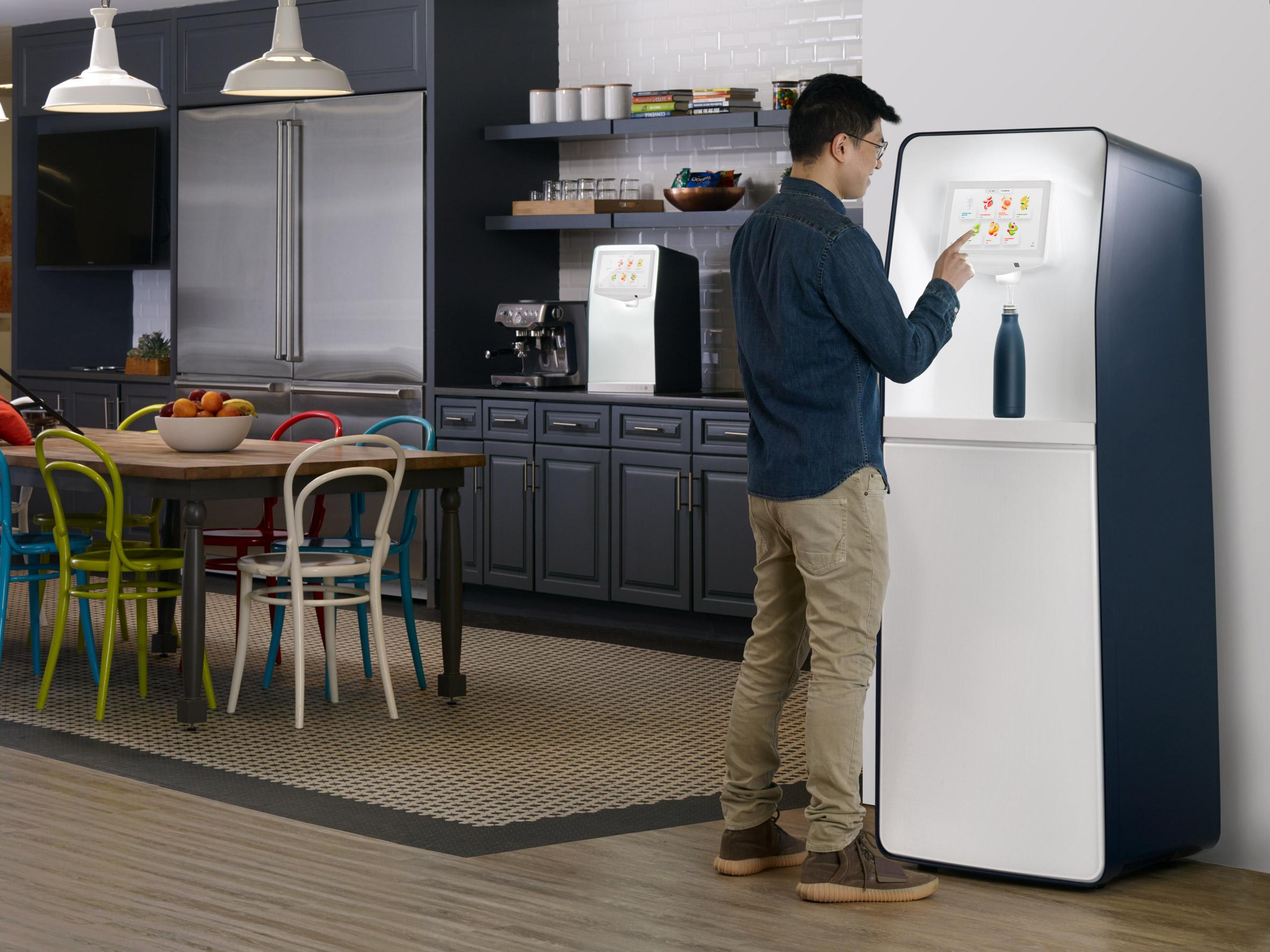 PepsiCo launches drinks dispenser for refillable bottles