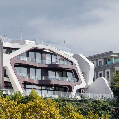 Pipia Panorama in Tbilisi by J Mayer H, photography by Denis Esakov