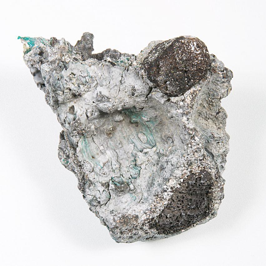 Kelly Jazvac presents plastiglomerate objects at Milan Triennale
