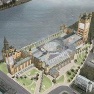 Brexit deadlock could be broken by re-designing UK's Palace of Westminster for parliament says Axiom Architects