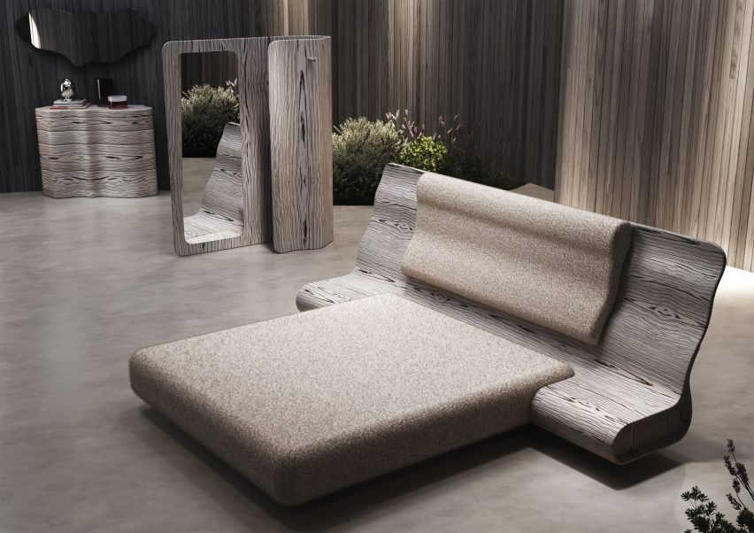 Ergo furniture by Ross Lovegrove for Natuzzi