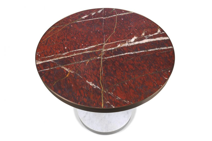 Salvatori Piero Lissoni Lost Stones marble tables