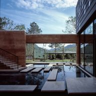 Rammed-earth architecture features on one of our Pinterest boards