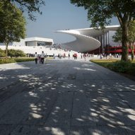 Renders of Shanghai Grand Opera House by Snøhetta in China