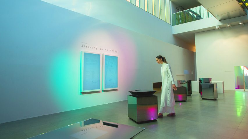 Sony explores robot-human relationship with abstracted Affinity in Autonomy installations