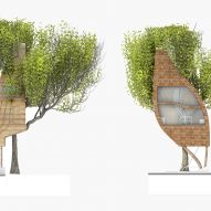 Street Tree Pods by Matthew Chamberlain