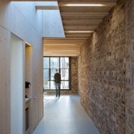 Sutherland & Co designs its own architecture studio in narrow Scottish building