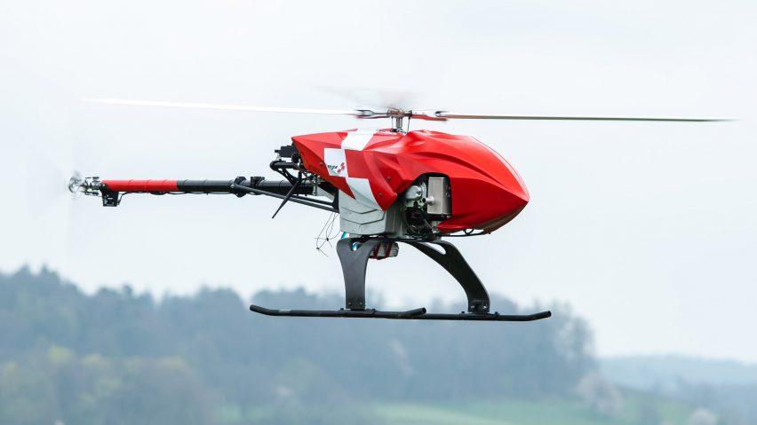 Rega autonomously rescue drone