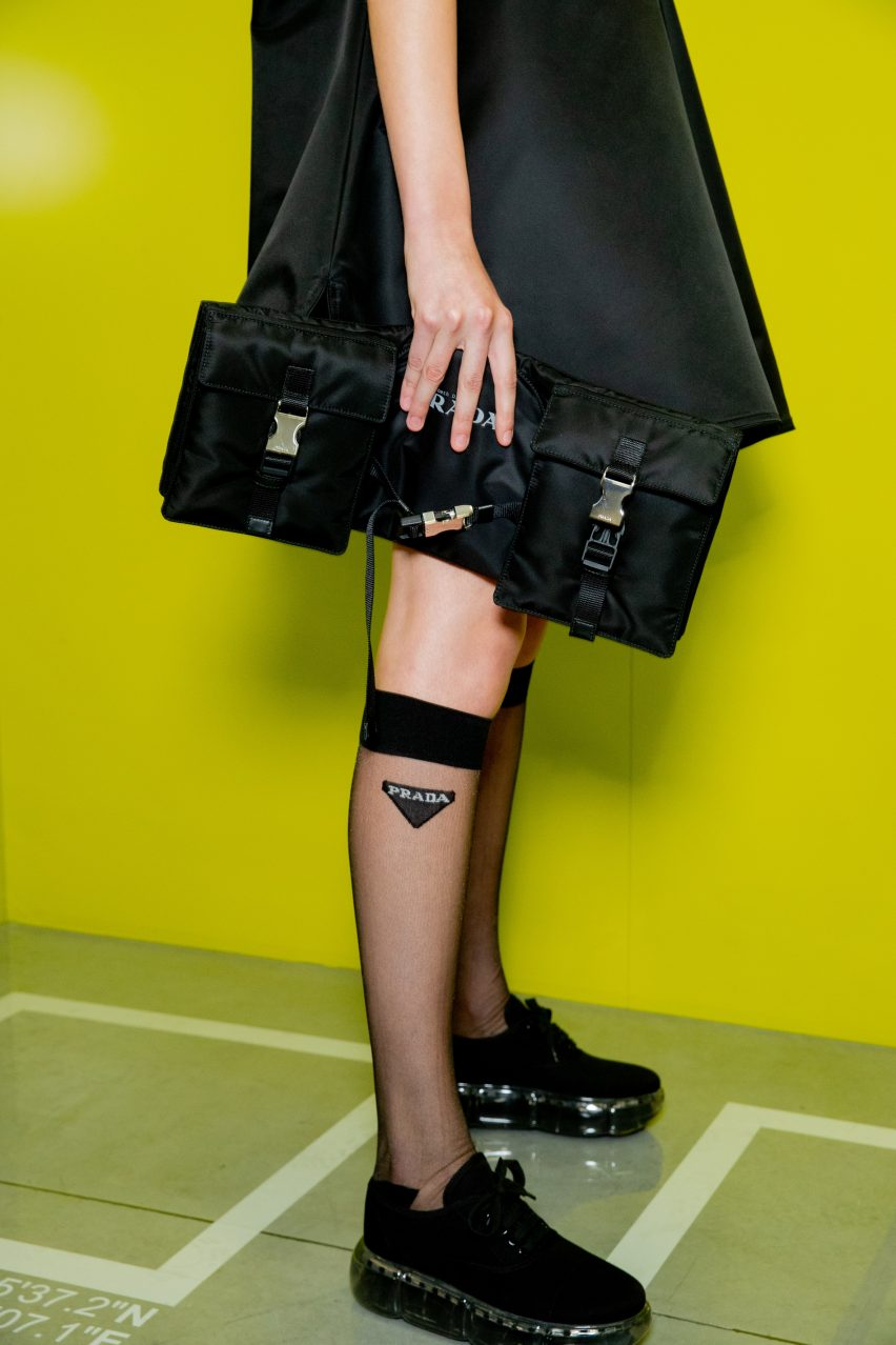 Wearable Luggage for Prada by Liz Diller of Diller Scofidio + Renfro