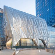 "The Shed opens at Hudson Yards with huge ""telescoping"" roof"