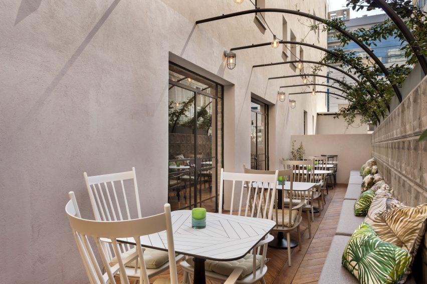 The Vera hotel by Yaron Tal Studio