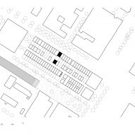 Site plan of 3-Generation House by BETA