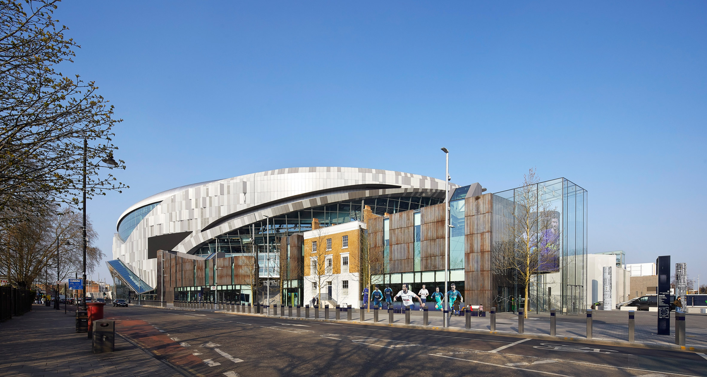Tottenham Hotspur Stadium in London by Populous