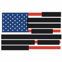 Redacted US Flag by Tucker Viemeister
