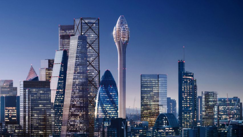 Visual of The Tulip by Foster + Partners