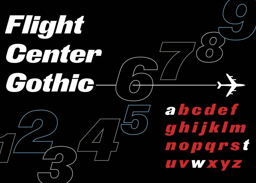Pentagram designs Flight Center Gothic typeface for New York's new TWA Hotel