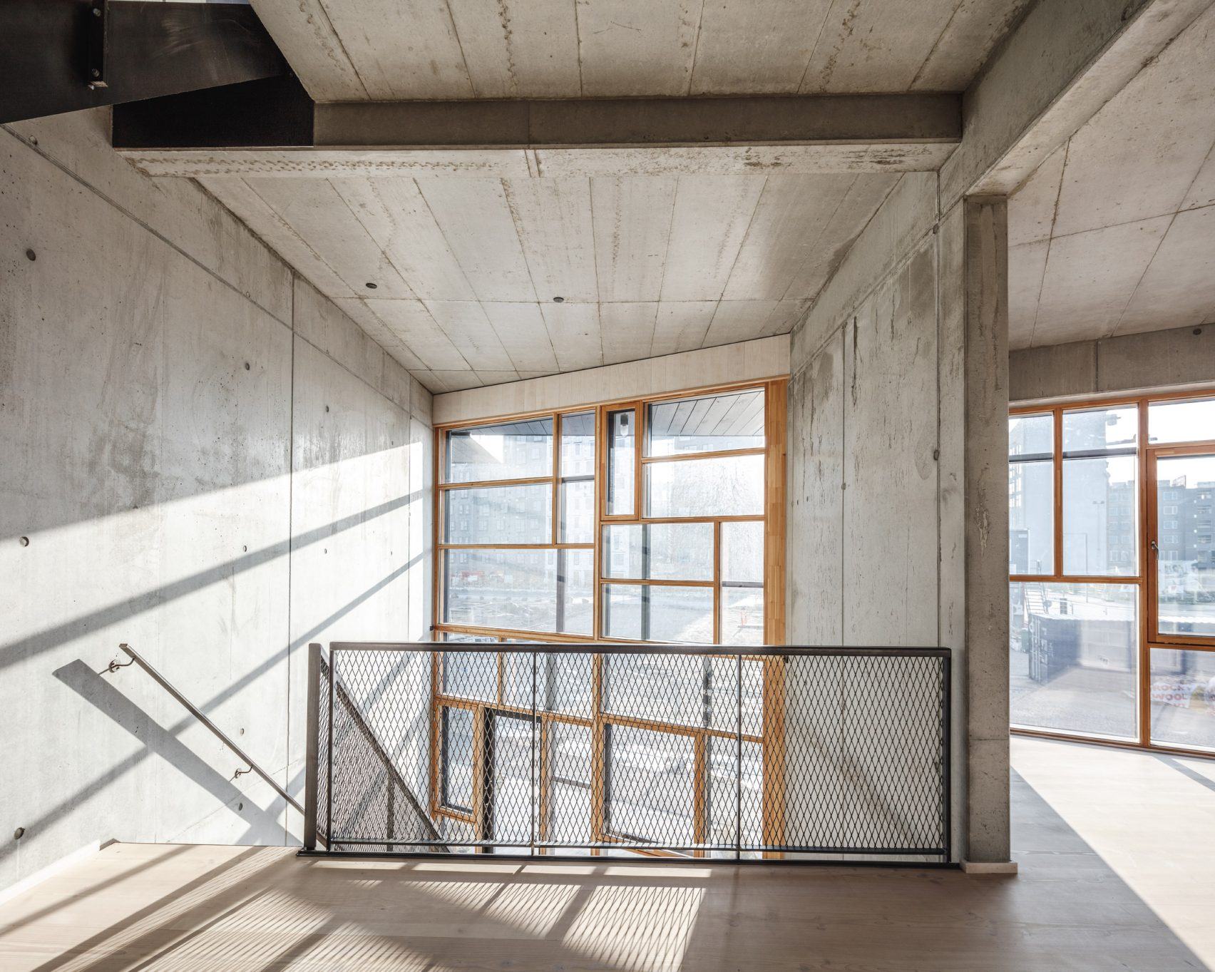 Lendager Group design of Upcycle Studios in Denmark built from recycled materials
