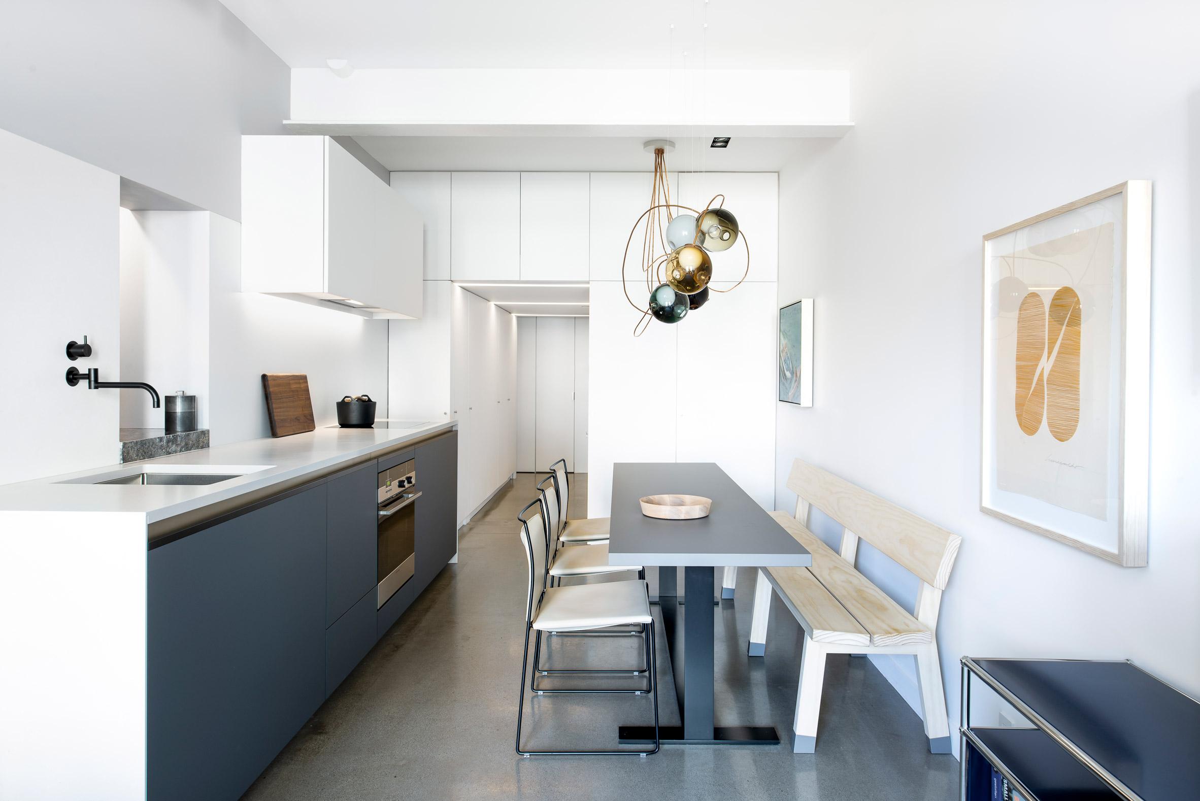 Vancouver loft renovation inspired by igloo by Falken Reynolds