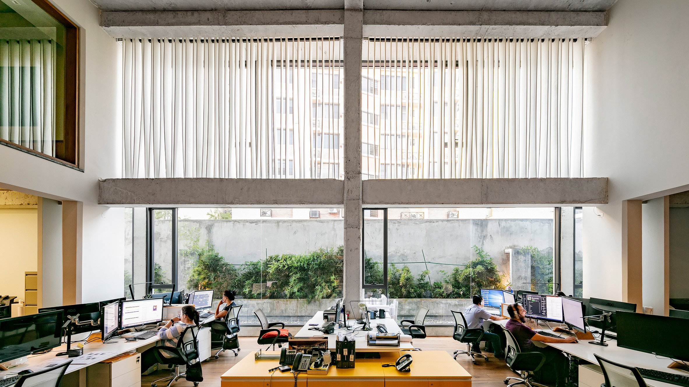 Ventura Office Panama City architecture studio photographed by Marc Goodwin
